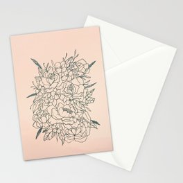 Bouquet series Stationery Cards