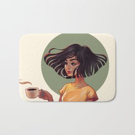Cuban Coffee Bath Mat