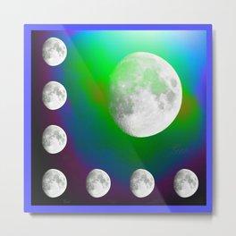 Everyone is a Moon Metal Print
