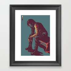 Winter Soldier Framed Art Print
