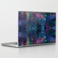 snake Laptop & iPad Skins featuring snake by Marta Olga Klara