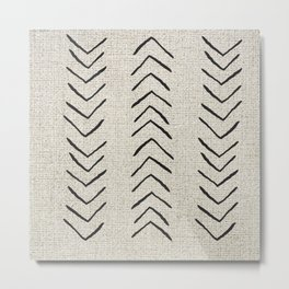 Minimal Arrow Pattern  Metal Print