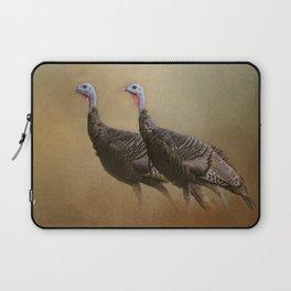 Wild Turkey At Shiloh Laptop Sleeve