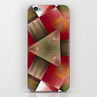 pyramid iPhone & iPod Skins featuring Pyramid by Deborah Janke