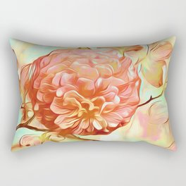 Floral Delight Rectangular Pillow