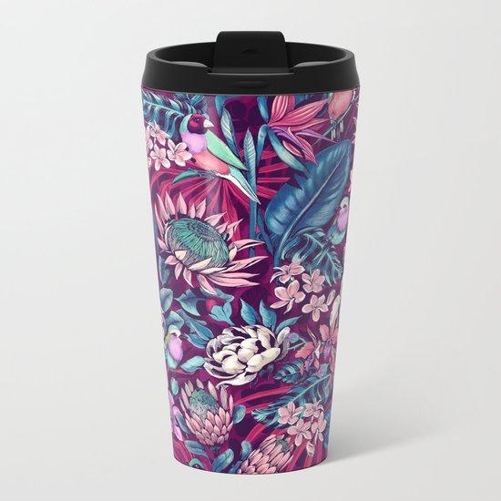 Stand Out! (ultraviolet) Metal Travel Mug