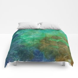 Stepping Into Unrecognizable Territory Comforters