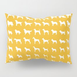 All Dogs (Gold) Pillow Sham