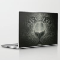 tiger Laptop & iPad Skins featuring Tiger by Dr. Lukas Brezak