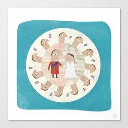 The Royal Wedding - Hyper Value Canvas Print