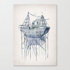 Dry Dock II Canvas Print