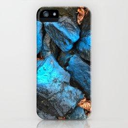 NVSV SPCS_blue rocks iPhone Case