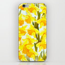 Spring Breeze With Yellow Flowers #decor #society6 #buyart iPhone Skin
