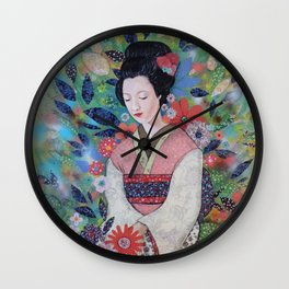 always a maiko Wall Clock