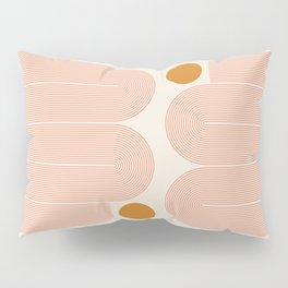 Abstraction_SUN_LINE_ART_Minimalism_002 Pillow Sham