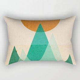 No mountains high enough Rectangular Pillow