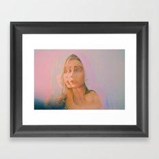 Changing Faces Framed Art Print
