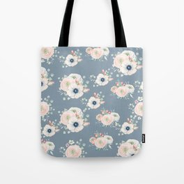 Dog Rose Pattern 3 Tote Bag