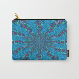 Inverted/Solarized Abstract 8 Carry-All Pouch