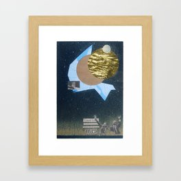 Giant Leap Framed Art Print