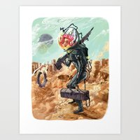 prometheus Art Prints featuring Prometheus by Logan  Faerber
