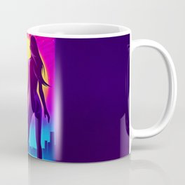 Synthwave Space #20: Twilight horizon Coffee Mug