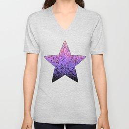Color Dots Background G159 Unisex V-Neck