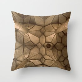 Looking Up - Mondsee Abbey, Salzburg Throw Pillow