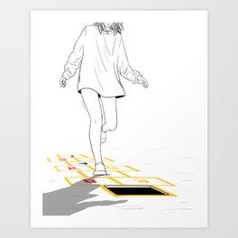 Faux Pas Art Print