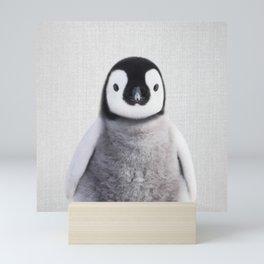 Baby Penguin - Colorful Mini Art Print