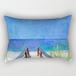 Fun at the Beach Rectangular Pillow
