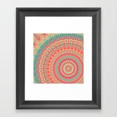 Mandala 323 Framed Art Print