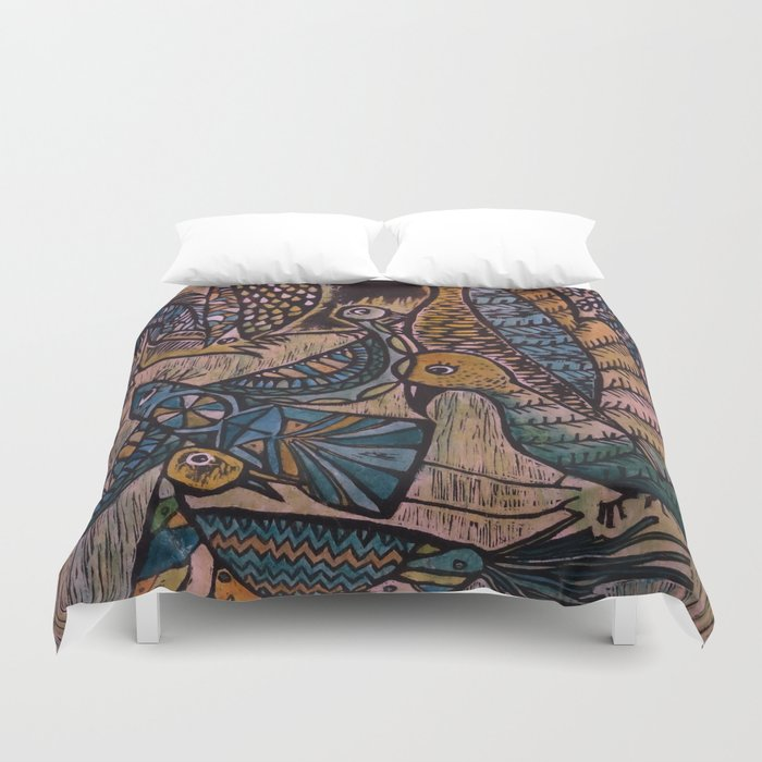 Birds (2) Duvet Cover