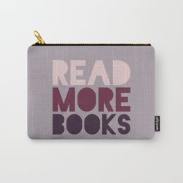 Read More Books (Purple) Carry-All Pouch