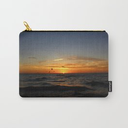 Sunrise 100717 Cove Point Lighthouse, Lusby, MD Carry-All Pouch