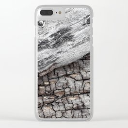 Old Wood - Photography by Fluid Nature Clear iPhone Case