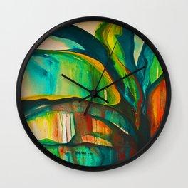 Euphoric Interlude Wall Clock