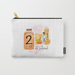 An Old Fashioned Cocktail Carry-All Pouch