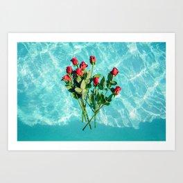summer romance #society6 #decor #buyart Art Print
