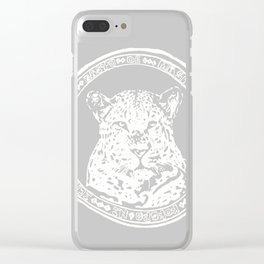Leo.grey Clear iPhone Case