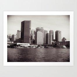 Circular Quay Sydney Art Print