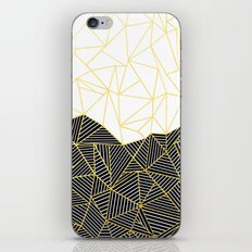Ab Half and Half White Gold iPhone Skin