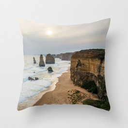 The Great Ocean Road. Throw Pillow
