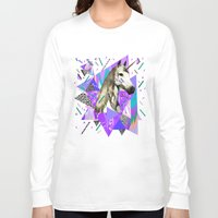 acid Long Sleeve T-shirts featuring ACID WAVVES by Kris Tate