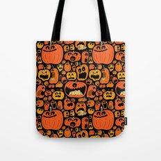 Pumpkin Pattern Tote Bag