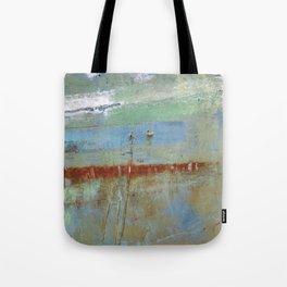 Harbour Abstract II - JUSTART (c) Tote Bag