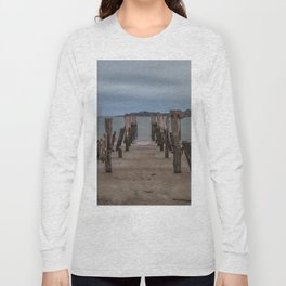 West beach a low tide Long Sleeve T-shirt