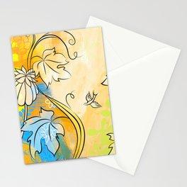 Soft Ochre October Stationery Cards