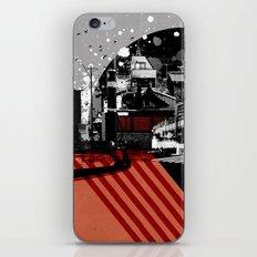 CMYK Triptych - Magenta iPhone & iPod Skin