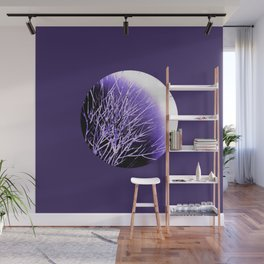 THE UltraViolet MOON Wall Mural